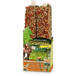 JR Farm Knaagstick Wilde zaden & Distel