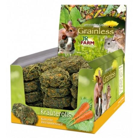 JR Farm graanloze brandnetel-wortel rolletjes