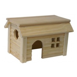 Huis met plat dak