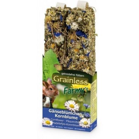 JR Farm Graanloze knaagstick korenbloem 2st